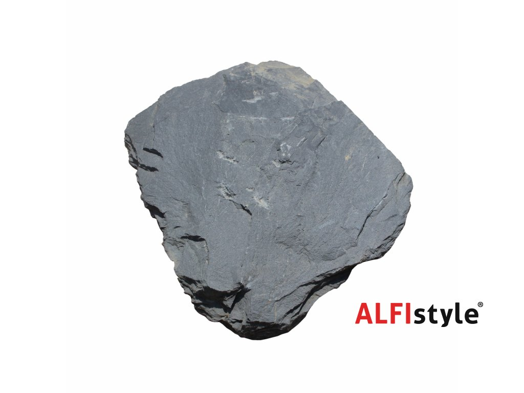 Nášlapný kámen z břidlice, tloušťka 2 - 4 cm, BL104