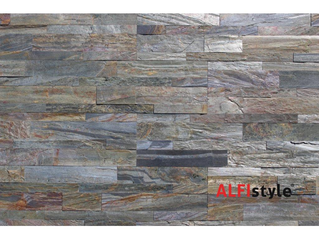 ALFIstick ® - 3D samolepicí kamenný obklad, Kvarcit multicolor, ESP002
