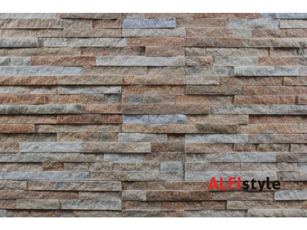 kamenný obklad kvarcit multicolor BL010
