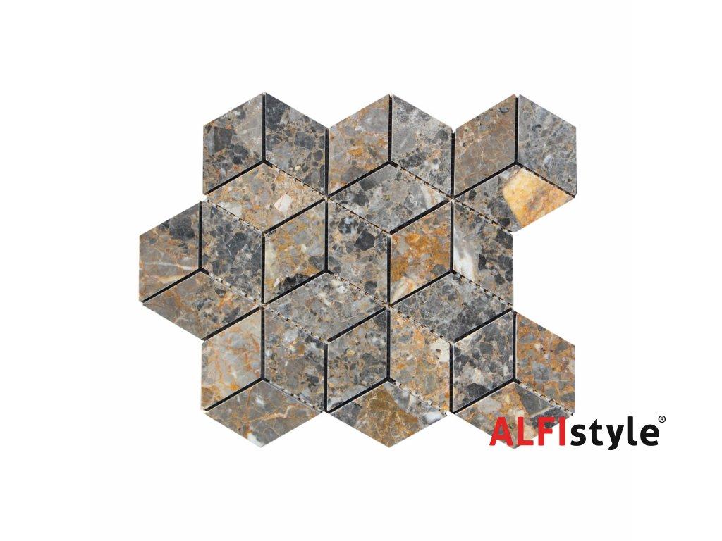 Kamenný mozaika z mramoru NH201