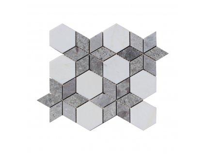 Kamenný mozaika z mramoru NH203