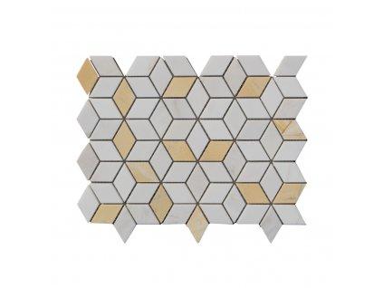 Kamenný mozaika z mramoru NH202