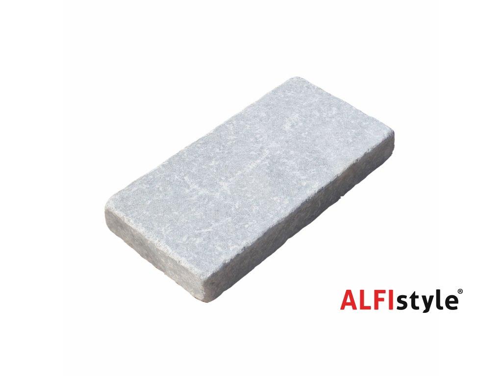Kamenná dlažba z mramoru Milky white, 20x10 cm, hrúbka 3 cm, NH102 - VZORKA