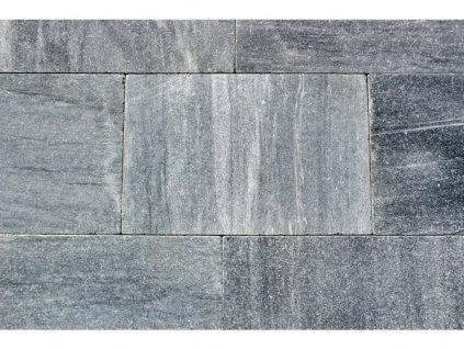 Kamenná dlažba z mramoru Silver grey, 60x40 cm, tloušťka 3 cm, NH101