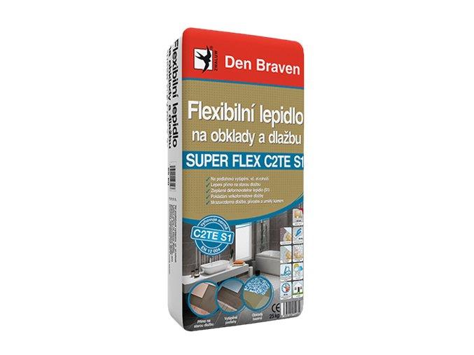 flexibilni lepidlo na obklady a dlazbu super flex c2tes1