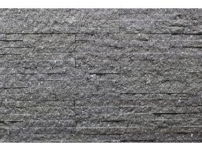 kamenný obklad kvarcit černý BL016