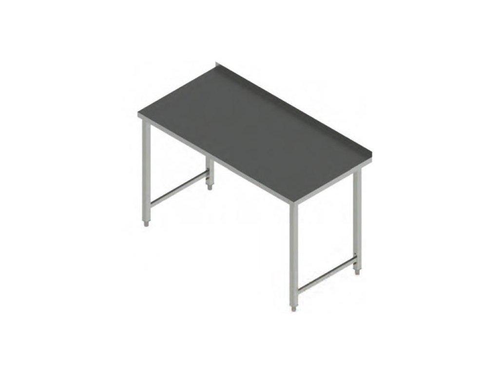 Pracovní stůl nerez bez police PS 120x70x90