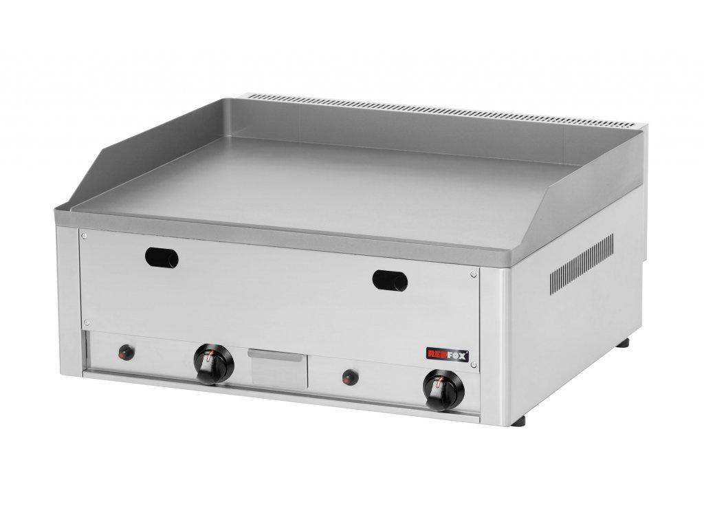 Grilovací deska hladká plynová FTH-60G