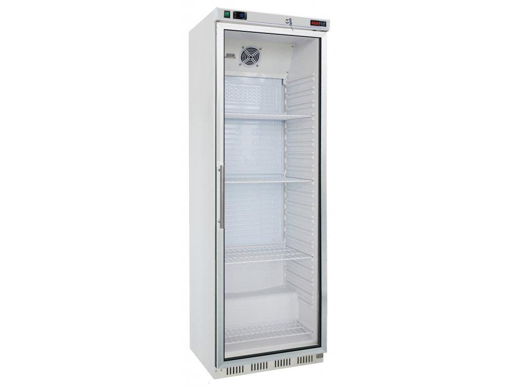 HR 400 G Lednice prosklená