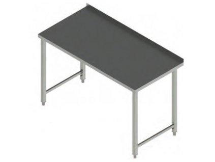 Pracovní stůl nerez bez police PS 160x70x90