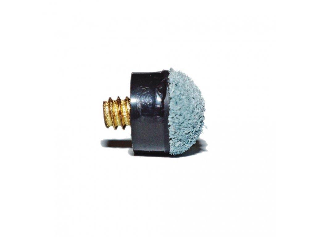 Kožená koncovka šroubovací kovový závit 12 mm