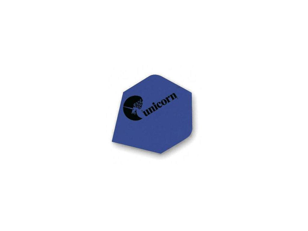 Letky na šipky Unicorn Maestro modré, plus