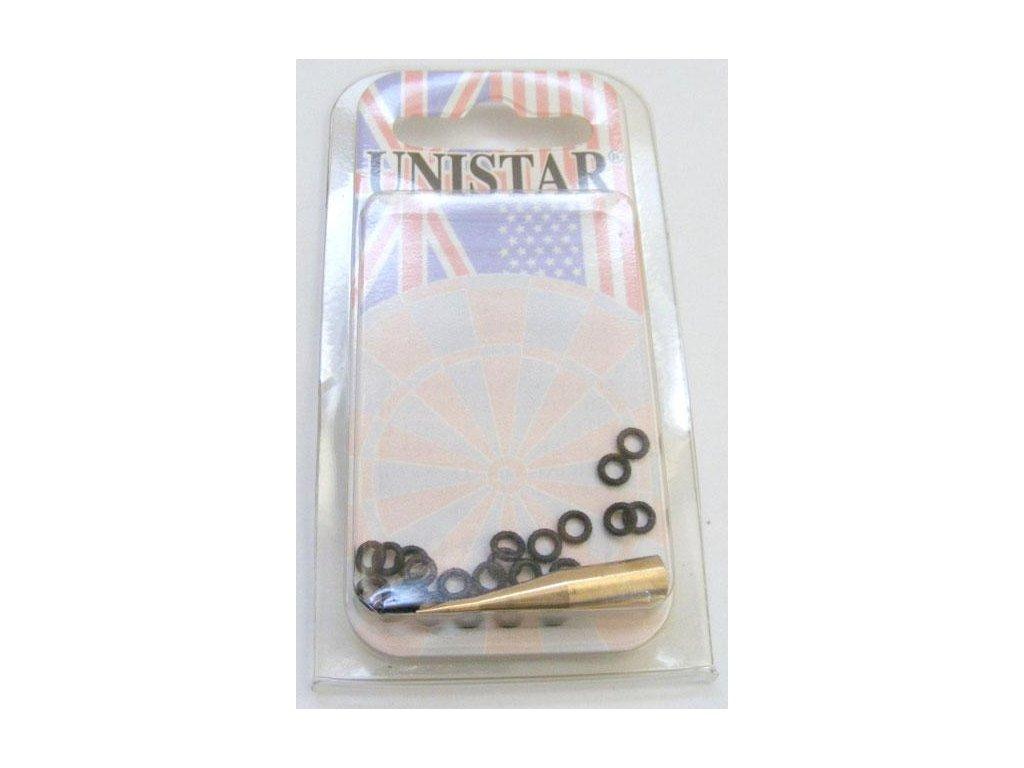 Šípkové gumové kroužky Unistar s adaptérem