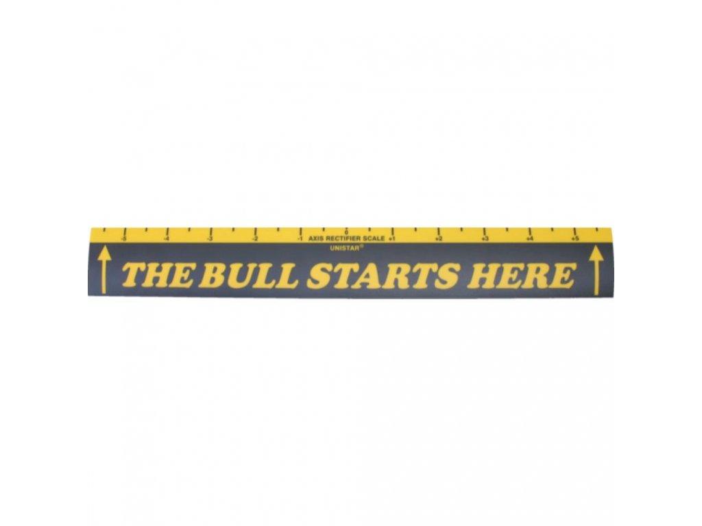 Šípková samolepící startovací čára BULL
