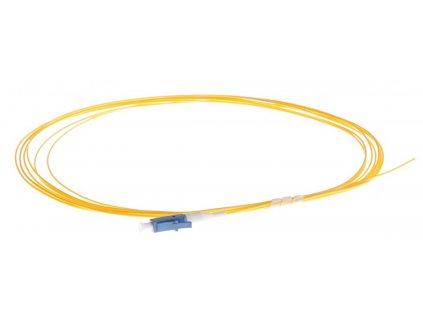 Pigtail optický LC 9/125 1m SM, 0,9mm