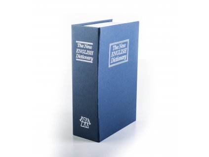 Trezor kniha G21 180 x 115 x 55 mm modrá