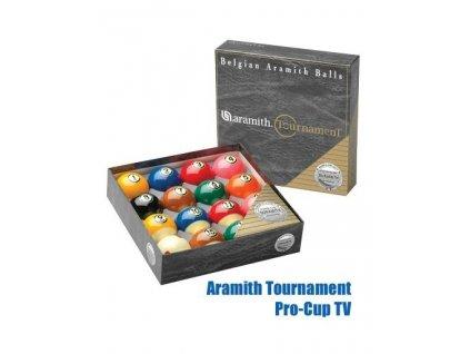 """Kulečníkové koule Aramith Tournament """"Duramith"""" Pro Cup TV 57,2mm"""