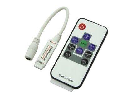 RGB LED kontrolér Premium Line lighting RF dálkové ovládání