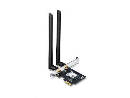 Síťová karta TP-Link Archer T5E AC 1200 Dual Band, 300Mbps 2,4GHz/ 867Mbps 5GHz, PCI-e, odnímatelná anténa, bluetooth