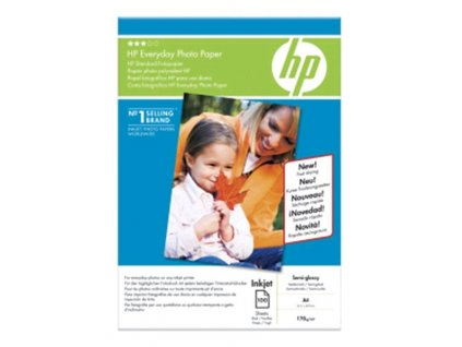 Fotopapír HP Everyday Photo A4, lesk, 200g/m2, 100 ks