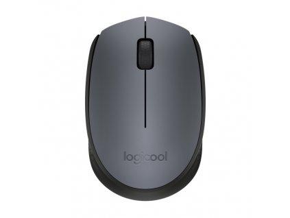 Myš Logitech Wireless Mouse M171 , optická, 2 tlačítka, 1000dpi, černá