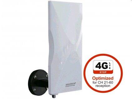 Anténa Maximum DA-6100 LTE venkovní aktivní anténa 20 dB, LTE
