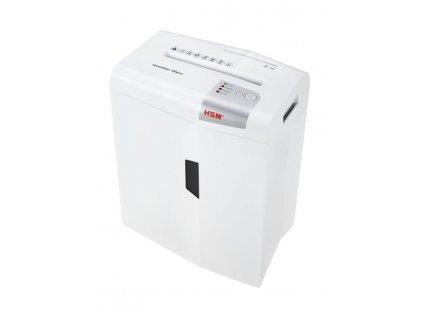 Skartovač HSM Shredstar X6pro White, P-5, 2x15mm, 6 listů, 20l, CD+DVD, Credit Card, Sponky