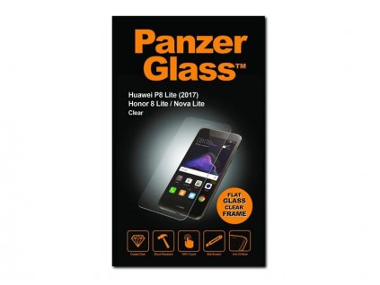 Tvrzené sklo PanzerGlass Edge-to-Edge pro Huawei P9 Lite (2017) čiré