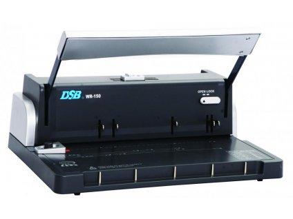 Vazač DSB WR-150 pro kovové hřbety, 125 listů vazba, 15 listů děrování