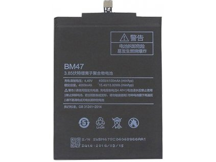 Baterie Xiaomi BM47 Original Baterie 4000 mAh (Bulk)