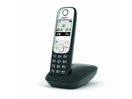 Sluchátko Gigaset A690HX DECT/GAP černý/stříbrný
