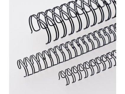 """Vázací hřbet RENZ kovový (3/1"""") A4 průměr 9,5mm černý 100ks"""