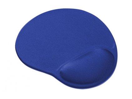 Podložka pod myš ergonomická, gelová, pro praváky, modrá