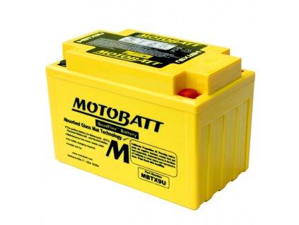 Baterie Motobatt MBTX9U 10,5Ah, 12V, 4 vývody