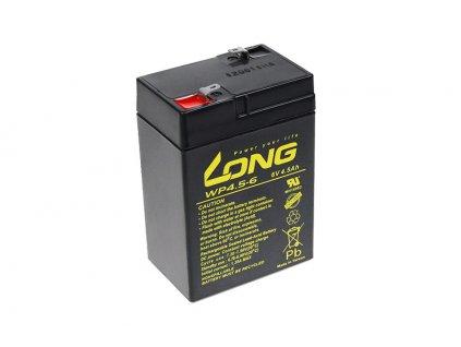 Baterie Avacom Long 6V 4,5Ah olověný akumulátor F1
