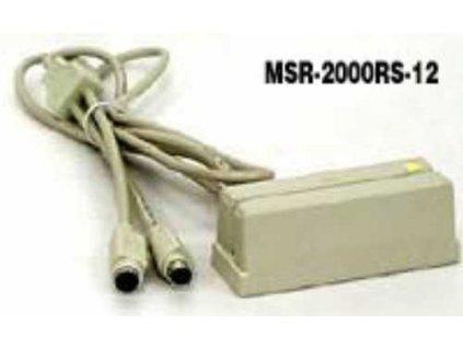 Čtečka Vikintek MSR2000-K snímač mag.karet 1,2stopa, KBW, světlý