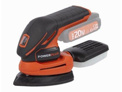 Vibrační bruska Powerplus POWDP5020 20 V bez baterie