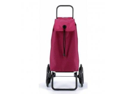 Nákupní taška Rolser I-Max Ona Rd6 s kolečky do schodů, vínová