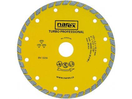 Diamantový kotouč Narex TURBO PROFESSIONAL 150 mm