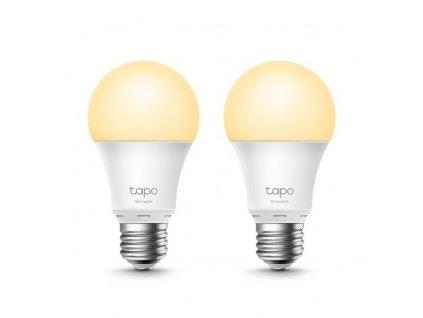 Chytrá žárovka TP-Link Tapo L510E(2-pack) E27, 8,7W, 230V, přes IP, stmívatelná, 2700K