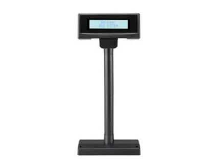 Displej FEC FL-2024MB LCD, 2x20, 14mm, černý, RS232, DEMO