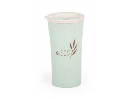 Eko kelímek G21 beECO Latte 450 ml, zelený