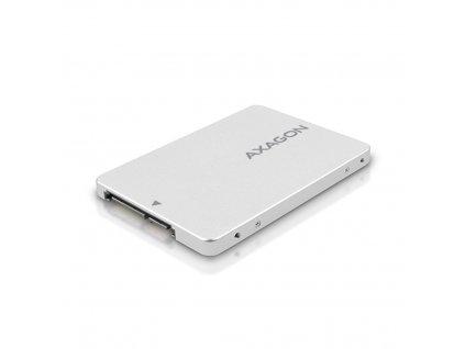 "Externí box AXAGON RSS-M2SD SATA - M.2 SATA SSD, interní 2.5"" ALU box"
