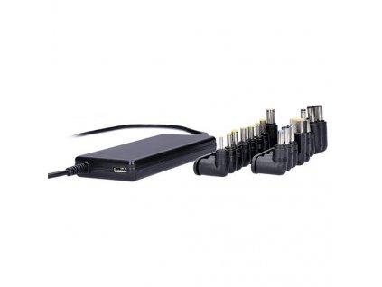 Nabíječka Solight univerzální pro notebooky 90W, USB, 16 koncovek