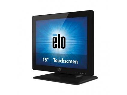"""Dotykový monitor ELO 1523L, 15"""" LED LCD, IntelliTouch (DualTouch), USB, VGA/DVI, bez rámečku, matný, černý - rozbaleno"""
