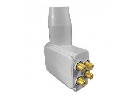Konvertor Tesla Multifeed Quad LNB s LTE filtrem