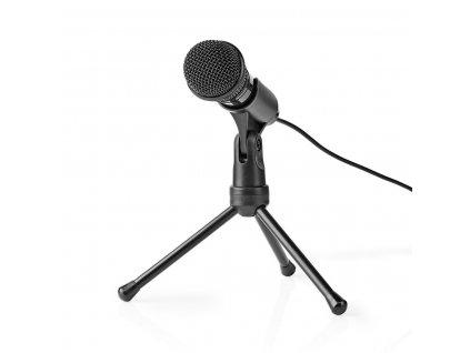Mikrofon Nedis stolní, kabelový, pro notebook, tablet a smartphone