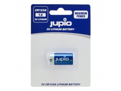 Baterie Jupio CR123A Lithium 3V 1ks