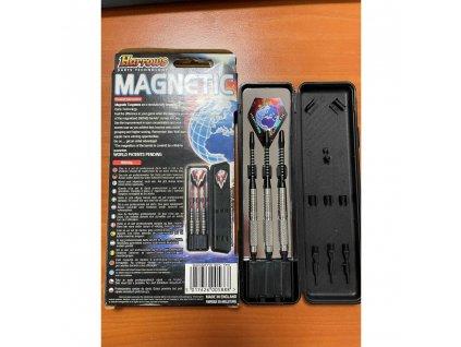 Šipky Harrows soft Magnetic 18g, 80% wolfram