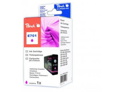 Inkoust Peach T7013 kompatibilní purpurový PI200-222 pro Epson Workforce Pro 4015 (2190str./5%, 36ml)